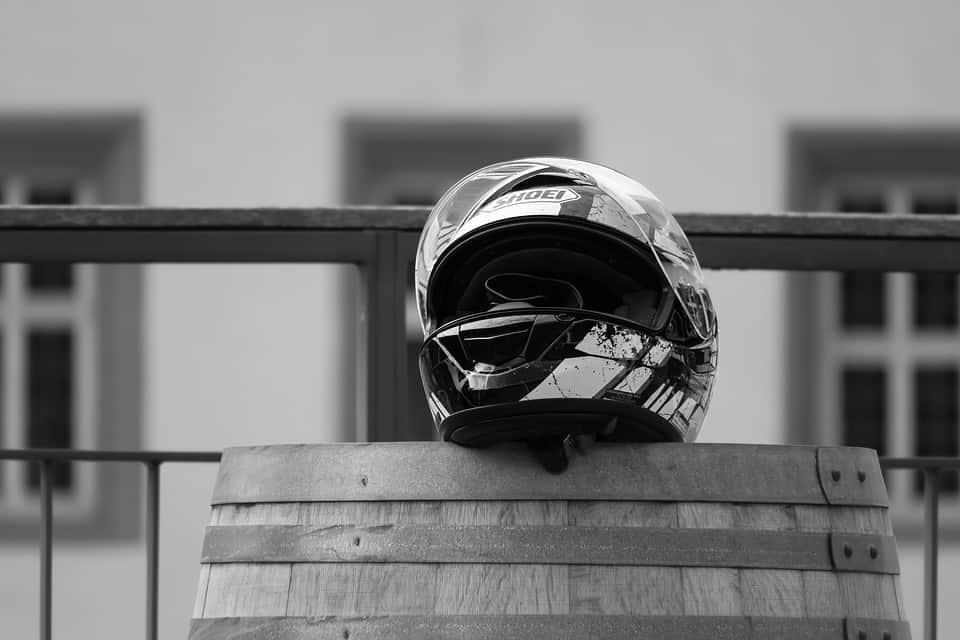 Explications sur la durée de vie d'un casque moto