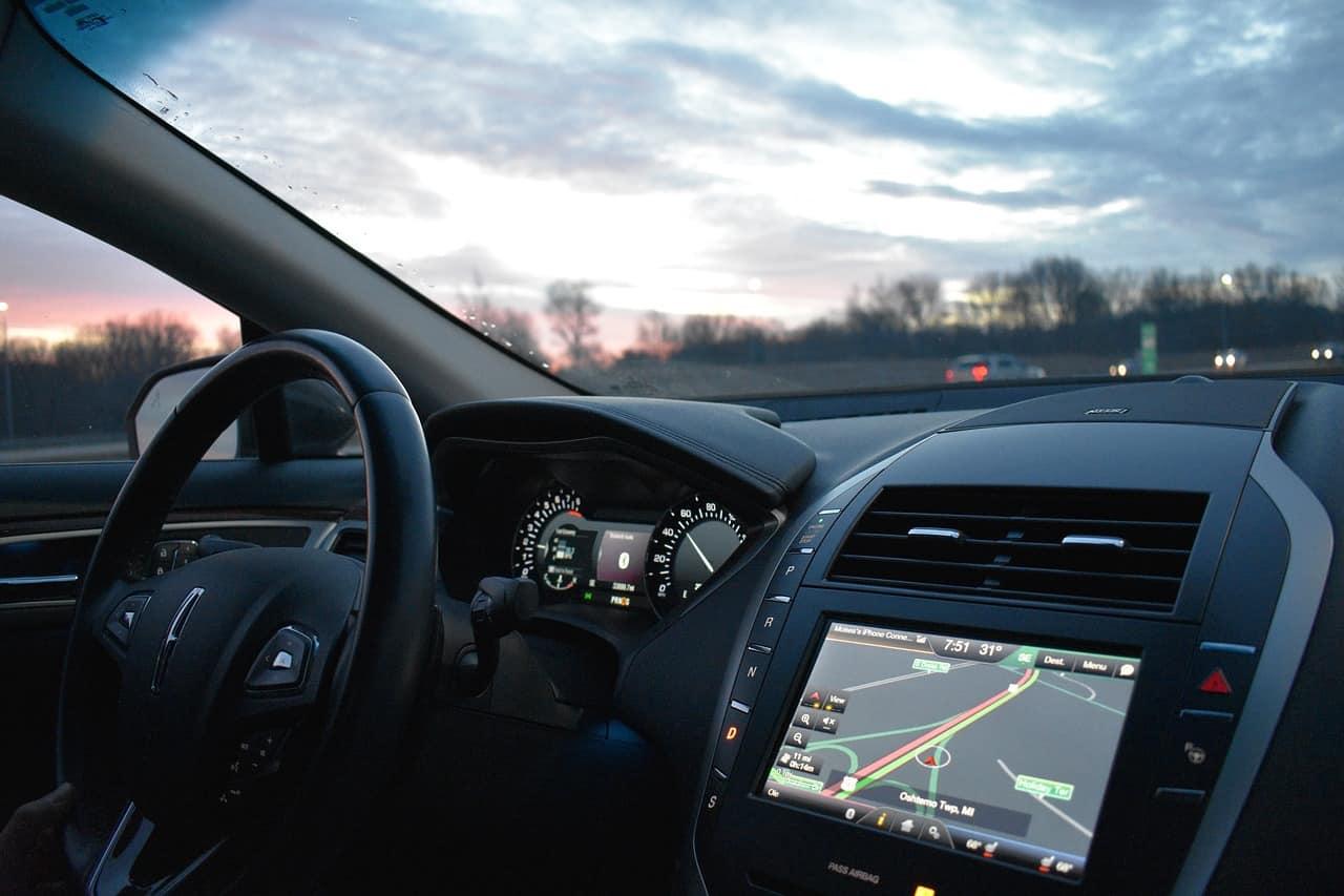 voiture intérieur