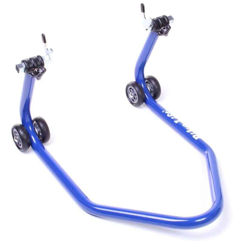 la béquille moto bike lift rs 17 bleu
