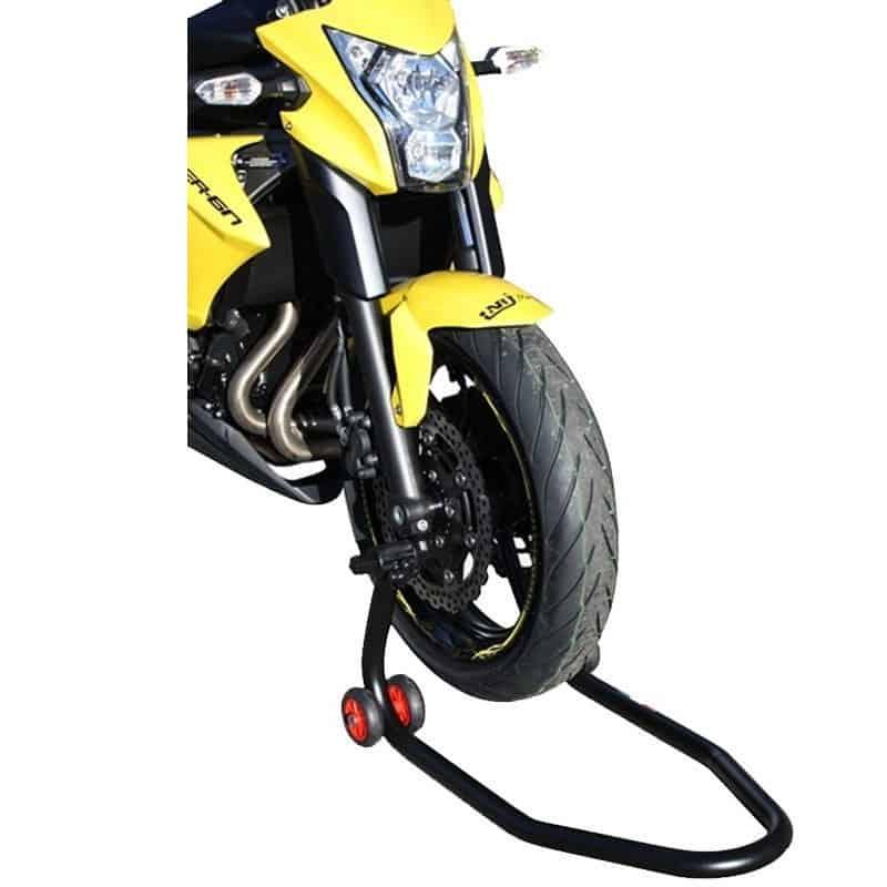 la béquille moto chaft avant