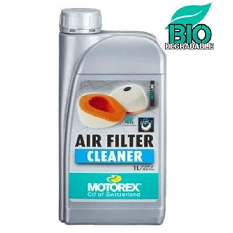 le nettoyant moto motorex air filtrer cleaner biodegradable 1l