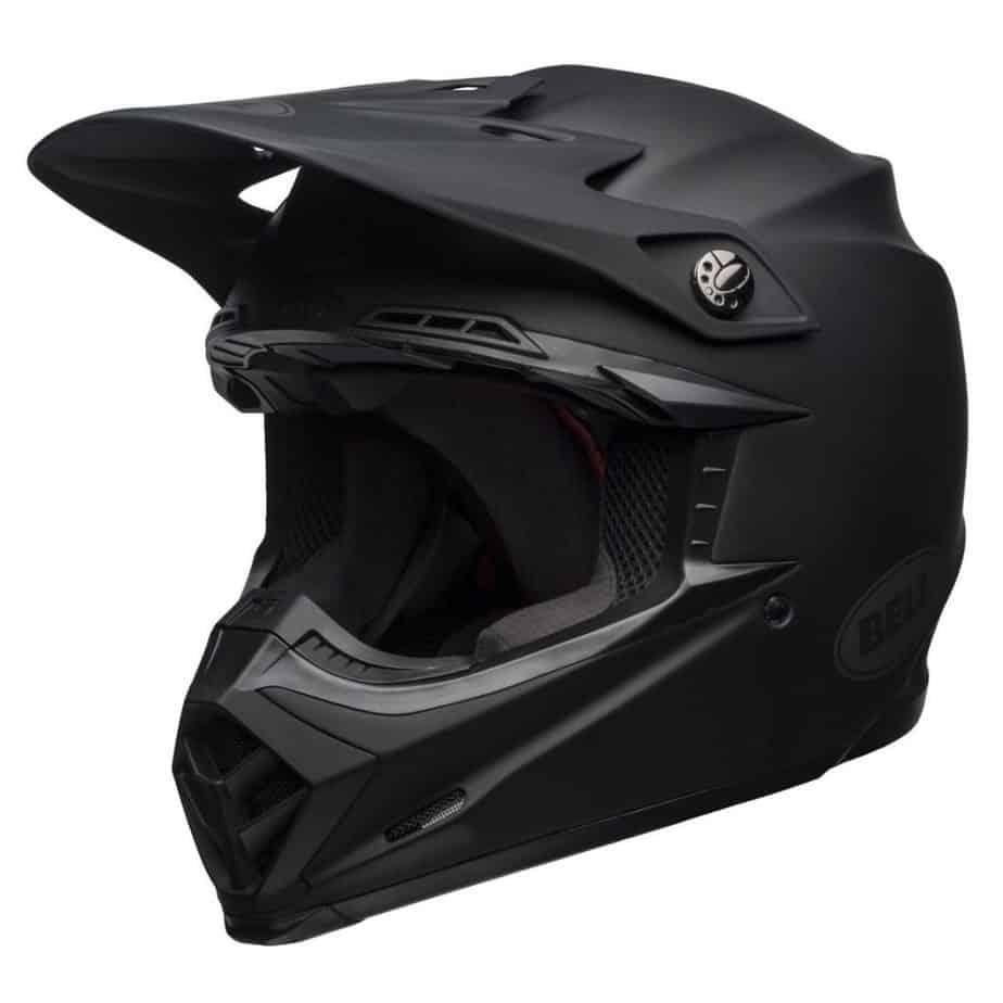 Casque moto cross Bell MOTO-9 MIPS DISTRICT NOIR MAT 2021