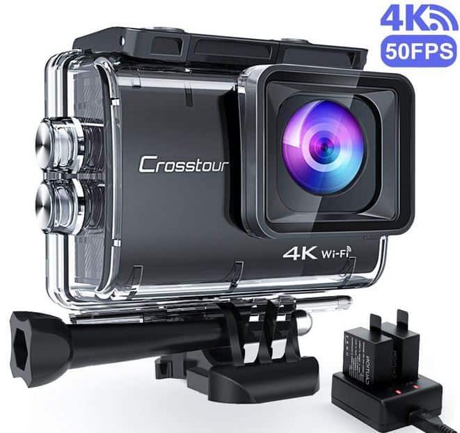 crosstour caméra 4K