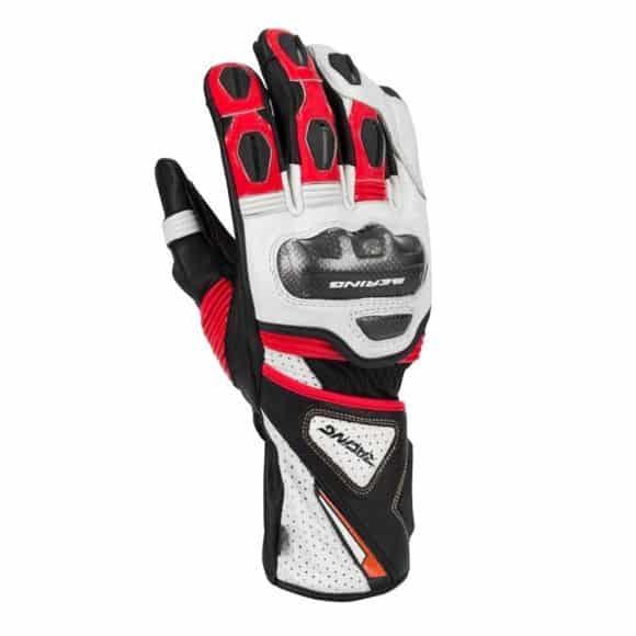 un gant moto racing
