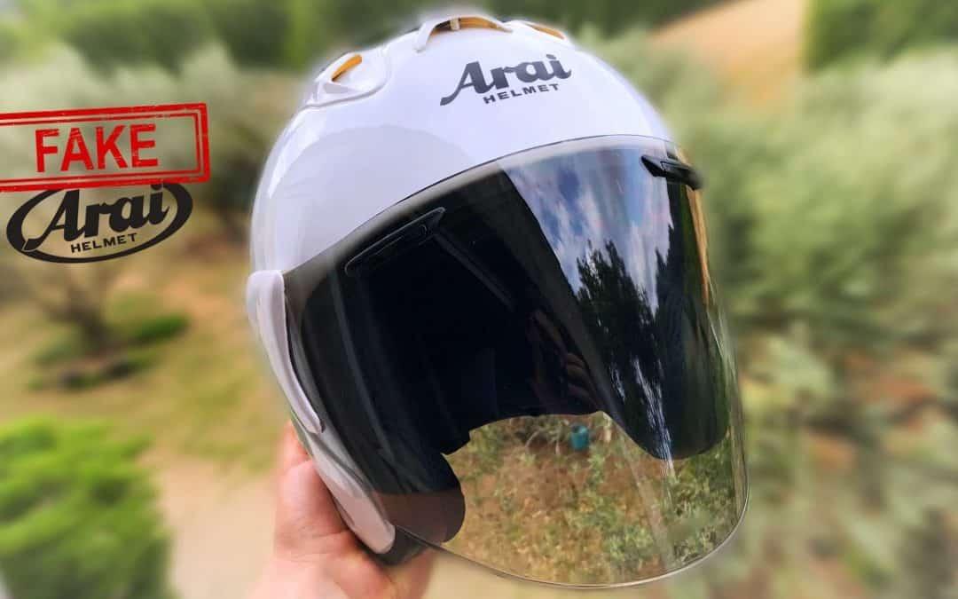 Comment reconnaître un faux casque ARAI ?