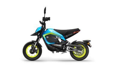 La marque Tromox a commercialisé sa mini-moto électrique Mino en Chine