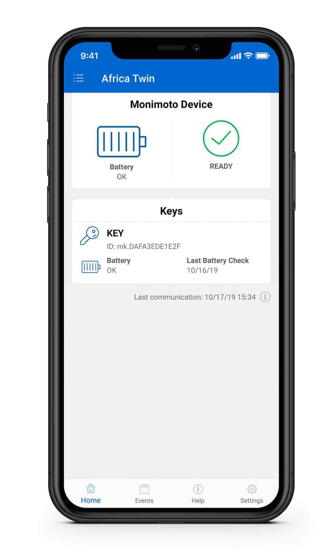 application batterie monimoto