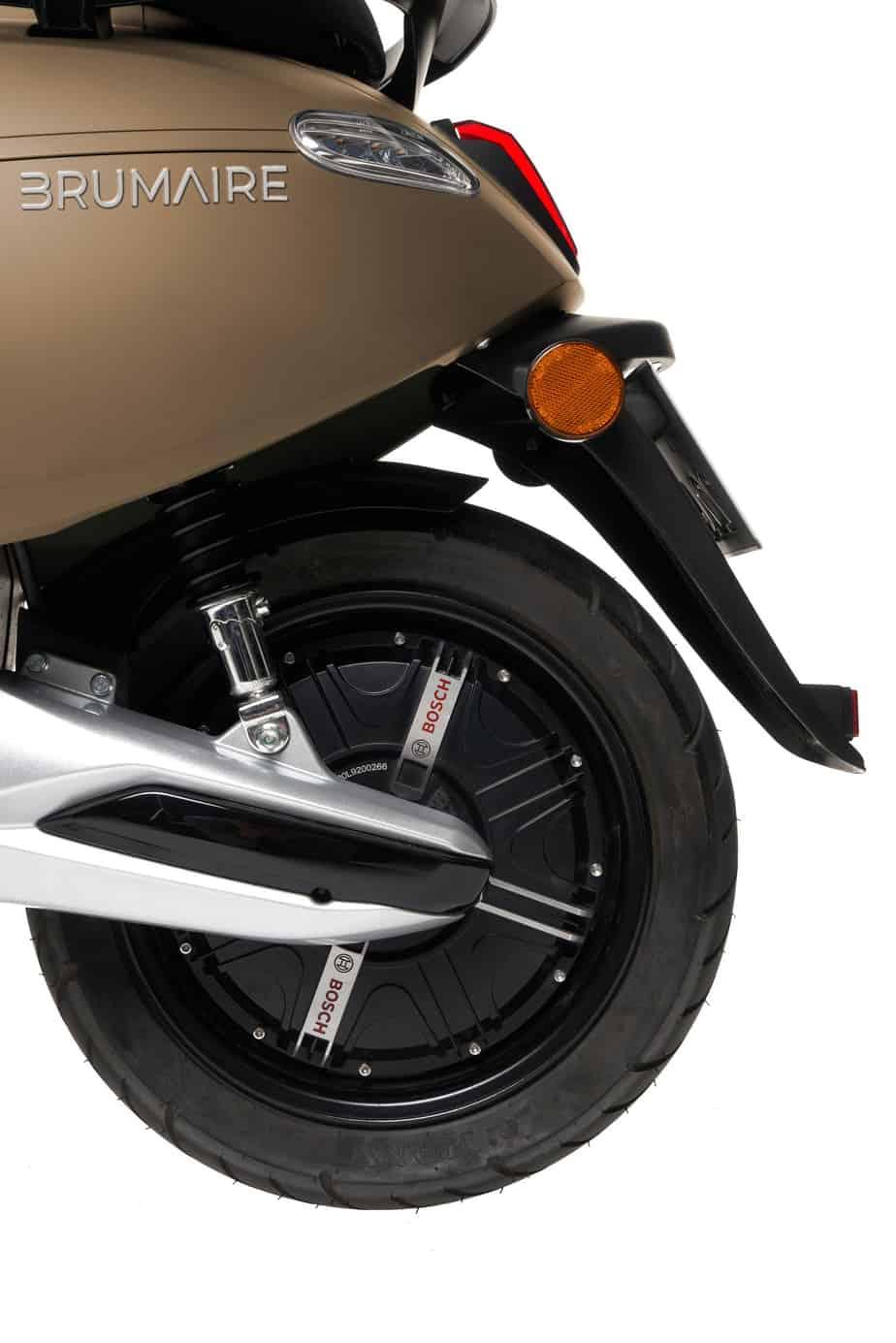 arrière train du scooter brumair