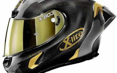 Le X803 RS Ultra Carbon Golden Edition, le dernier casque de X-Lite