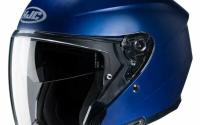 Un nouveau casque moto jet chez HJC : le i30