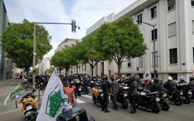 Contrôle technique obligatoire pour deux-roues : les motards ont manifesté à Lyon