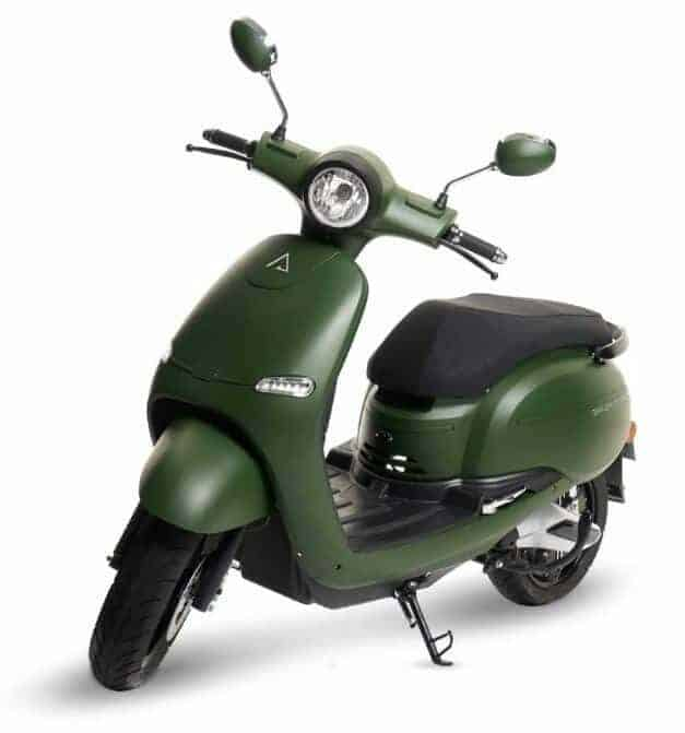 scooter vert brumaire
