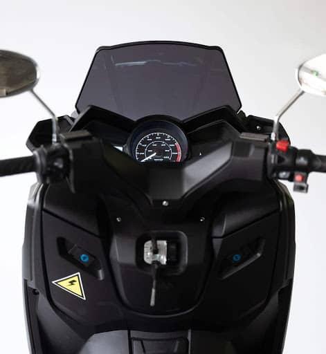Frison scooter T10 noir guidon