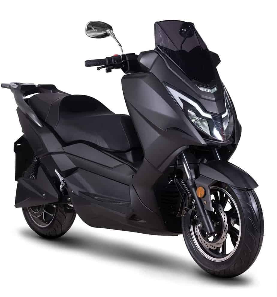 Frison scooter T10 noir