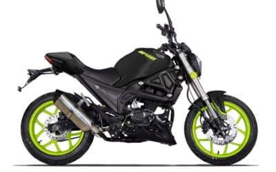 Nouveauté chez Magpower : la moto roadster sportif Biggers 50 2021