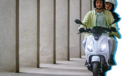 Nouveauté Piaggio : le scooter électrique Piaggio ONE
