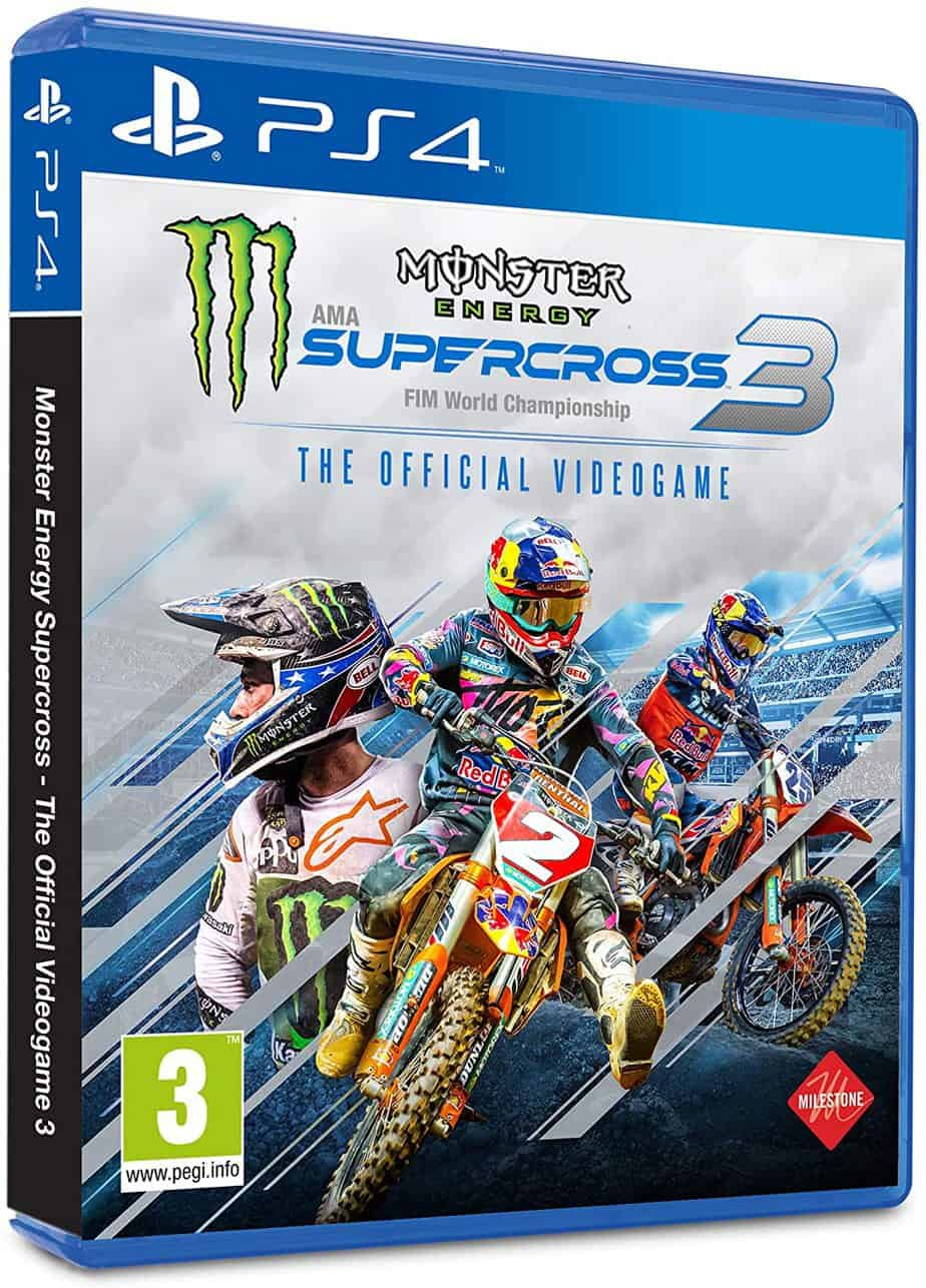 Le jeu vidéo moto Monster Energy Supercross – The Official Videogame 3