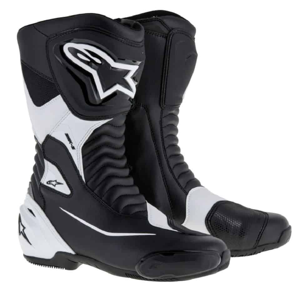 alpinestars bottes blanches