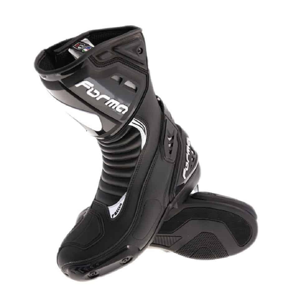 bottes moto forma freccia