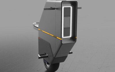 Honda Baiku, le concept d'un scooter électrique à une roue