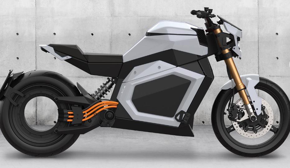 Une moto de la marque Verge a reçu un premier prix de design