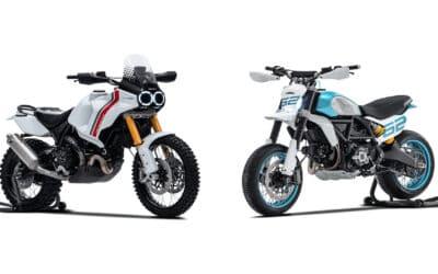 Ducati a dévoilé son programme de nouveautés pour 2022