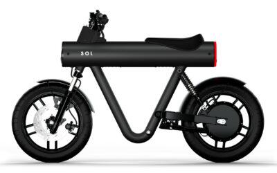 Nouveauté moto électrique : La Sol Pocket Rocket