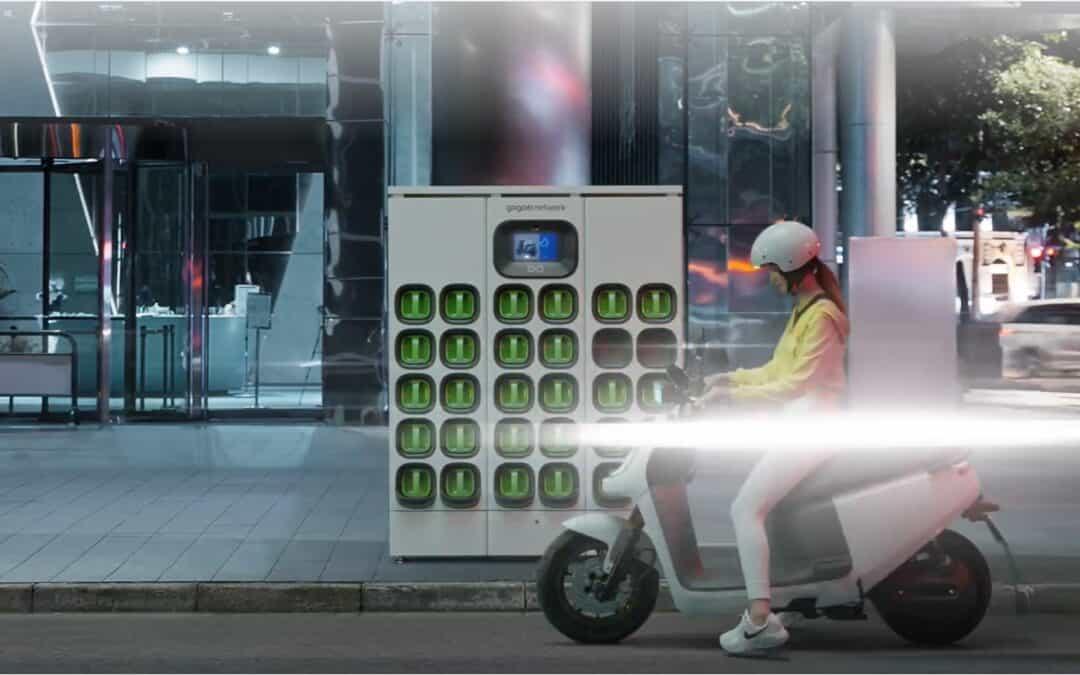 Gogoro arrive en Chine avec son service d'échange de batteries